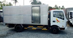 Xe tải veam 2.4 tấn thùng bạt (vt252-mb)