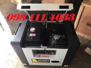 Giảm giá ưu đãi máy phát điện chạy xăng dùng gia đình tại HOàng Long