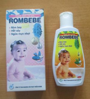 Sản Phẩm Rombebe- Giúp Bé Hết Rôm Sảy, Ngừa Mụn Nhọ, Tốt Cho Sức Khỏe