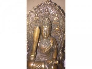Tượng Phật vân phù bồ tát, chất liệu đồng tốt