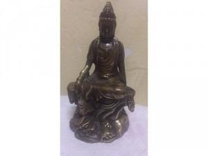 Tượng Phật Quan Âm tự tại bồ tát, chất liệu đồng tốt