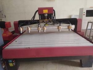 Máy cnc 4 đầu gia công gỗ 2d,3d,4d, máy đục gỗ vi tính – giá rẻ