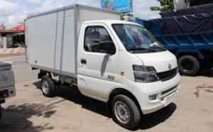 Xe tải dongben thùng kín tải trọng 790 kg