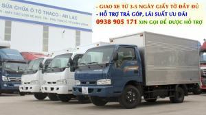 Thaco Kia Frontier K165s - 2,4 tấn là dòng xe tải máy dầu quen thuộc, được khách hàng tin dùng hơn 10 năm qua với doanh số bán hàng tăng trưởng liên tục qua mỗi năm bởi thương hiệu uy tín và chất lượng.  Thông số kỹ thuật về xe tải Kia K165 - 2,4 tấn đời 2017: