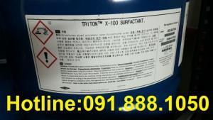 Bán-Triton X-100 Mỹ, bán-Triton-X100 hàng công nghiệp dùng để tẩy rửa bề mặt kim loại.
