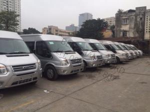 Ford Transit 16 chỗ đời 2017, giá rẻ nhất tại Thành Phố Hồ Chí Minh