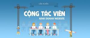 Tuyển Cộng Tác Viên Kinh Doanh Website