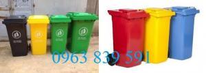 Chuyên sản xuất và phân phối thùng rác composite 120l giá rẻ
