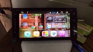 Màn hình DVD android jin theo xe Toyota
