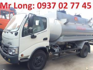 xe HINO bồn 6 khối , xe HINO chở xăng dầu 6m3 , HINO dutro 342L chở xăng dầu , xe HINO 5 tấn chở xăng dầu , giá xe HINO 5 tấn chở xăng dầu, đại lý xe HINO