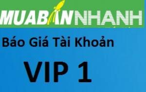 Bán hàng nhanh dễ dàng với VIP 1