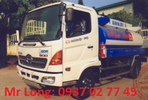 Xe bồn HINO 7m3 ,  HINO FC bồn chở xăng dầu 7 khối , xe HINO FC9JESW chở xăng dầu , xe HINO 6 tấn chở xăng dầu