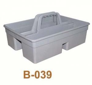 Xô có tay cầm 2 ngăn đựng hóa chất nước vệ sinh lau kính chao bao B-039