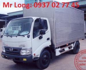 HINO 5 TẤN THÙNG KÍN , HINO DUTRO WU342L thùng kín , xe tải thùng kín 5 tấn HINO