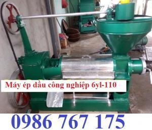Máy ép dầu công nghiệp giá rẻ 6yl-110 ép 200kg/h