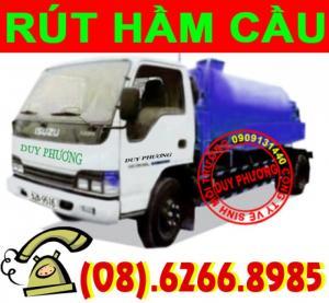 Dịch vụ rút hầm cầu - thông tắc cống - thông cầu cống nghẹt giá rẻ TP.Hồ Chí Minh