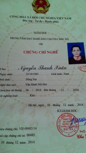 Chứng chỉ vận hành nồi hơi, chứng chỉ vận hành lò hơi tại Hà Nội