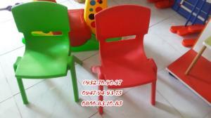 Ghế nhựa đúc nhập khẩu mầm non , các loại ghế tốt