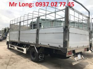 xe tải Hino FC9JLTA mui bạt , Xe Hino 6T2 mui bạt thùng dài , xe mui bạt Hino FC9JJSW 6 tấn 2 thùng dài 6,7m , xe tải HINO 6 tấn 2 , giá xe Hino 6 tấn .