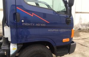 Bán xe Hyundai nâng tải 7 tấn. thùng bạt INOX
