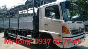xe tải HINO 8 tấn thùng mui bạt , HINO FG8JPSL mui phủ , xe tải mui bạt 8 tấn hino FG , xe tải 8 tấn HINO thùng dài , HINO 8 tấn thùng dài.