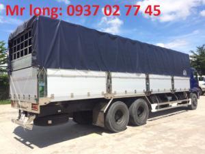 HINO FL mui bạt , xe tải HINO 15 tấn mui phủ , xe tải HINO 3 chân tải trọng 15 tấn ,  xe tải HINO FL8JTSL thùng mui bạt bửng nhôm , đại lý xe tải HINO .