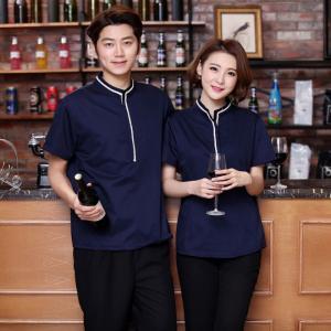 Đồng phục nhân viên phục vụ nhà hàng đẹp, sang trọng