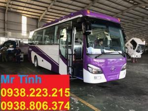Giá bán xe 29 chỗ bầu hơi thaco mới nhất thaco tb82 2017