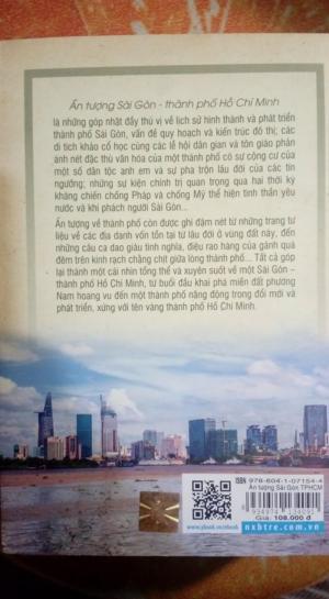 Sách Ấn Tượng Sài Gòn - Thành Phố Hồ Chí Minh