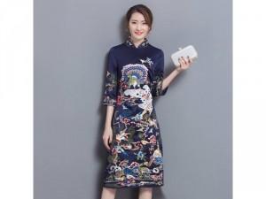 Đầm Quảng Châu cao cấp Hàng nhập