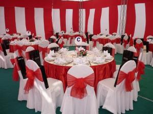 Bàn ghế nhà tiệc cưới giá rẻ nhất tại thành phố