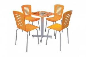 Công ty nội thất chuyên sản xuất bàn ghế nhựa giả mây nhựa đúc gỗ chân sắt các loại nhiều mẫu