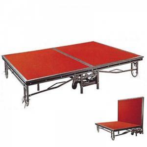 BỤC SÂN KHẤU + Mã: NH-BSK-001 + Kích thước: (W)1220x(D)2440x(H)410-610 mm  + Chất liệu: gỗ, sắt sơn, thảm đỏ