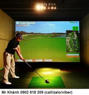 Thi công mini golf, thi công phòng golf mini tại nhà