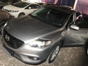 Cần bán xe Mazda Cx9 2016 số tự động màu xám bạc