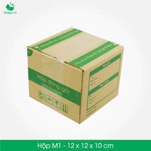 M11 - Size 14x14x7 cm- Hộp giấy Carton đóng gói gửi hàng thu hộ COD