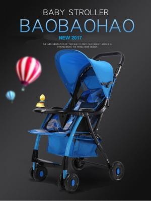 Xe nôi đẩy trẻ em cao cấp Baobaohao 722C New 2017