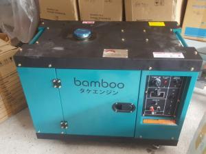Máy phát điện chạy dầu vỏ cách âm chống ồn thương hiệu Nhật dùng gia đình công ty khách sạn