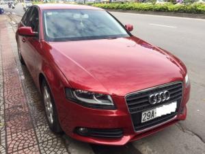 Bán xe cũ Audi A4 1.8 , Sản xuất  2009. màu Đỏ rực rỡ,  Đăng ký biển Hà Nội năm 2011