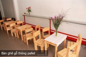 Bàn gỗ quán nhậu quán ăn gia đình, quán cốc mới 100%