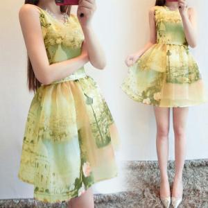 Đầm nữ phong cách dễ thương