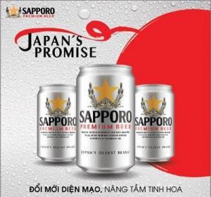 Thùng 24 lon bia Sapporo Silver 330ml
