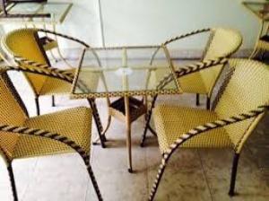 Bộ bàn ghế cafe thanh lý giá rẽ
