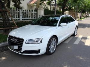 Bán Audi A8 , Động cơ 4.0 , Sản xuất 2014, đăng ký 2014, màu trắng