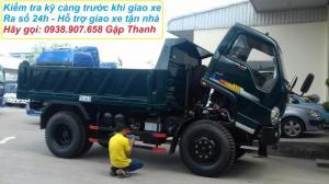Bán xe ben Thaco Forland FLD600C - Xe ben 6 Tan - Thùng 4 khối 9 - đời 2017