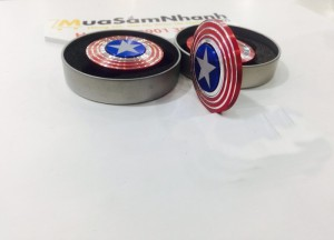 Con quay spinner Captain America QUAY CỰC CHUẨN Fidget Spinner, Hand Spinner - MSN388147