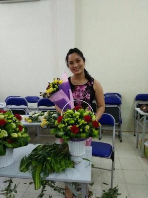 Địa chỉ học cắm hoa nghệ thuật