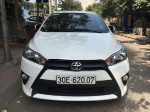 Bán xe Toyota Yaris E 1.3 AT đời 2015, màu trắng, nhập khẩu, 545 triệu