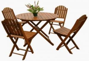 Bàn ghế gỗ cafe sân vườn giá cạnh tranh cực kỳ hấp dẫn