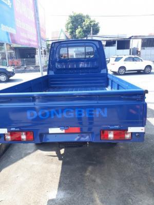 Tải nhẹ Dongben 870kg, thùng lửng dài 2.5 mét